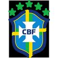 Logo équipe du Brésil coupe du monde